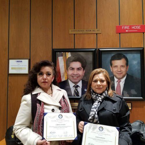 Clases de maquillaje Mujeres Migrantes en Progreso